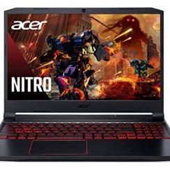 Acer Nitro 5 Intel Core i5-10th Gen 15.6-inch 144 Hz Refresh Rate Gaming Laptop (8GB RAM/RTX 3060 Graphics/1TB HDD + 256GB SSD/Windows 10/Obsidian Black/2.3 Kgs), AN515-55