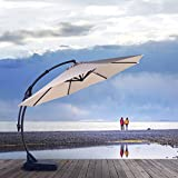 Grand Patio Napoli Deluxe 11 FT Offset Umbrella