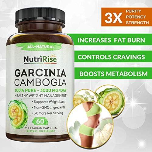 Garcinia Cambogia 3000 MG Supplement - 60 Capsules 6