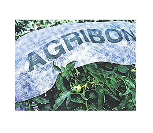 "Agribon AG-30 Floating Row Crop Cover/Frost Blanket/Frost Cloth/Garden Fabric Plant Cover - Ebook Included (83"" X25')"