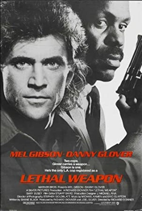 Amazon.com: Pop Culture Graphics Lethal Weapon Poster Movie B 11x17 Mel  Gibson Danny Glover Gary Busey Mitchell Ryan: Prints: Posters & Prints