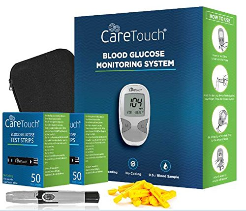 care touch blood glucose meter review