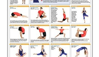 Hatha Yoga Poses Chart 60 Common And Their Names