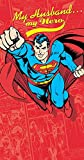 Husband Superman Humour Valentine's Day New Greeting Card
