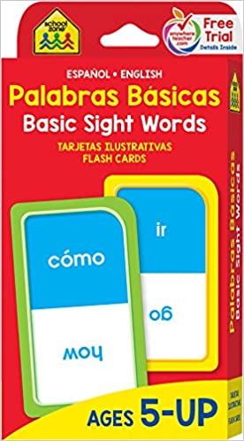 Sight Words In Spanish and English