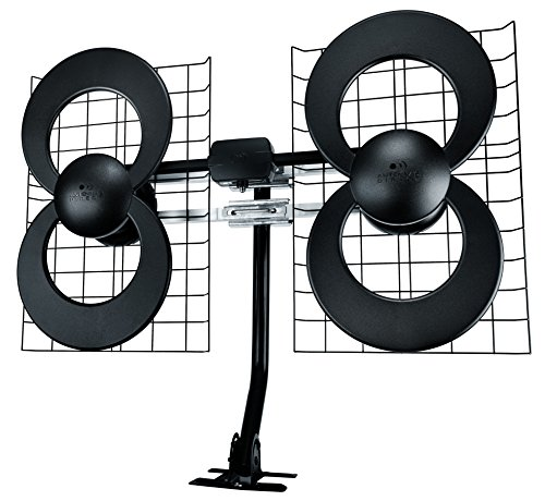 ClearStream 4 Indoor/Outdoor HDTV Antenna with Mount - 70 Mile Range
