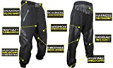 Bunker Kings Featherlite Fly Paintball Pants with Adjustable Velcro Waist and Ankle Cuffs