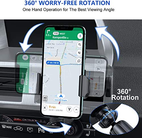Miracase Car Air Vent Clip 2020 Upgraded-2nd Generation for Diameter 17mm Joint Ball Cell Phone Holder for Car /& Wireless Car Charger