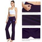 Cotton yoga pants bootcut
