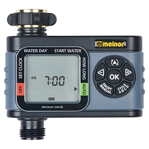 Melnor 73280 Digital Water Electronic Hose Timer, 4 zone