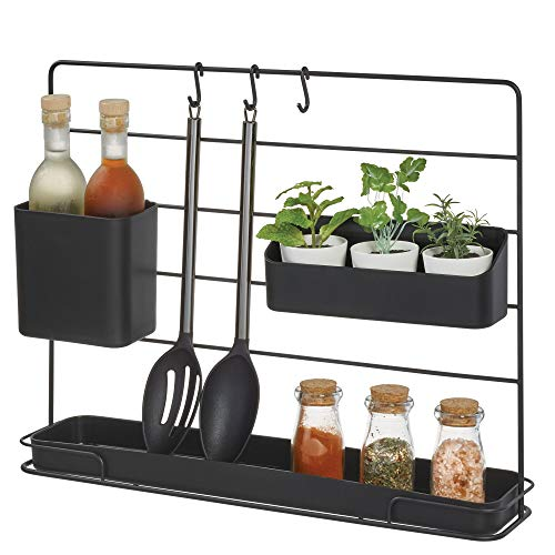 kitchen with the iDesign Austin Modular Countertop Organizer