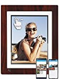 BSIMB WiFi Cloud Digital Picture Frame Digital Photo Frame 9 Inch IPS Touch Screen 16GB Storage Auto Rotate Motion Sensor Add Photos/Videos from iPhone & Android App/Twitter/Facebook/Email W09