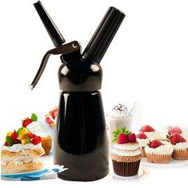 Mosa Bestwhip Whipped Cream Dispenser (Black, 250 ml)