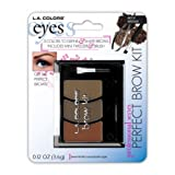 L.A. Colors BEAUTY 21 COSMETICS - BROW KIT MEDIUM