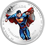 2013 Mint Proof Modern Day SupermanTM - 1/2 Oz $15 Fine Silver Coin $10 Mint State