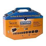 Spyder 600806 Bi-Metal Rapid Core Eject Maintenance Hole Saw Kit, 14-Piece