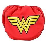 Bumkins DC Comics Reusable Swim Baby Diaper, Wonder Woman Icon, Small