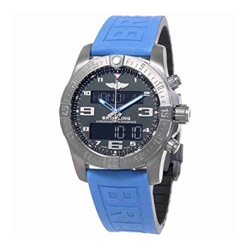 Breitling Exospace B55 Connected Blue Rubber Mens Watch VB5510H2-BE45BLPD3