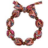 Nano-Ice Cooling Necklace - Coral/Turquoise | Beat The Heat in Style! | Take Out of Freezer for Hours of Cooling Relief!