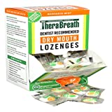 TheraBreath Dentist Recommended Dry Mouth Lozenges, Sugar Free, Mandarin Mint Flavor (300-Count)