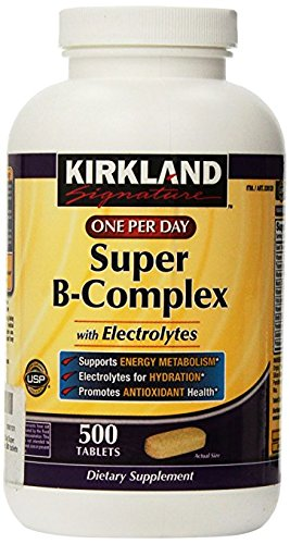 Kirkland-Signature-One-Per-Day-Super-B-Complex-with-Electrolytes500-tablets