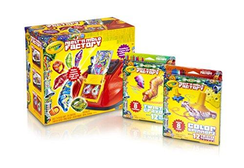 Crayola Melt N Mold Crayons Unit/Refill Bundle