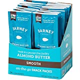 Barney Butter Almond Butter Snack Pack, Smooth, 0.6 Ounce, 24 Count
