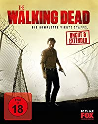 The Walking Dead - Die komplette 4. Staffel UNCUT Blu-ray