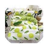 Bedspread 4pcs/Set bedspreads 2pcs Pillowcase King Queen Twin Full Size Duvet Cover Air Conditioner Blanket,Dark Gray,120CM,220CM,Black