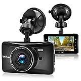 OldShark Dash Cam, 3' 1080P HD Car Recorder 170 Wide Angle Night Vison Dashboard Camera with G-Sensor, Loop Recording, WDR, Parking Guard