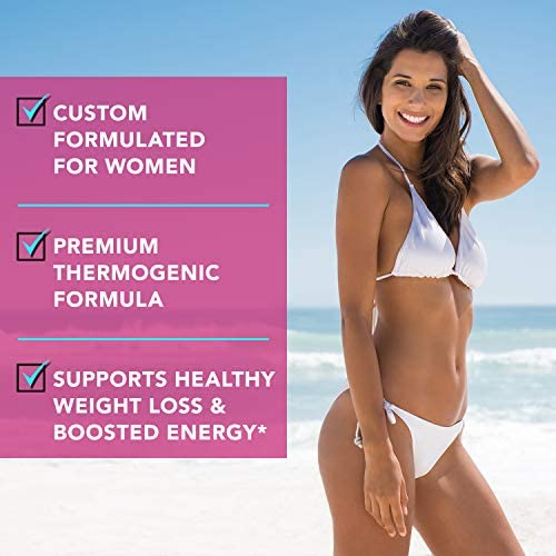 Thermogenic Fat Burner for Women - Triple-Strength Metabolism Booster, Appetite Suppressant & Carb Blocker - Natural Ingredients Support Healthy Weight Loss - 60 Diet Pills - Sheer Strength 3