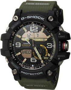 Casio Men's GG-1000-1A3CR Mudmaster G-SHOCK Quartz Casual Watch, Green
