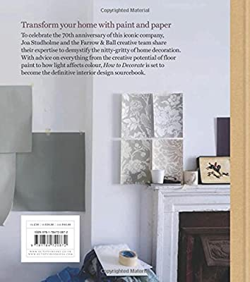 Farrow Ball How To Decorate Transform Your Home With Paint Paper Amazon Co Uk Farrow Ball Joa Studholme Charlotte Cosby Books