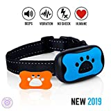 Violet Crown Pet Essentials Sonic Vibrating Humane No Harm No-Bark Dog Collar – Dog Training, Behavior Correcting Collar for Dogs of All Breeds and Sizes