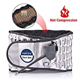 Lumbar Support Belt with Heat, Decompression Back Belt for Back Brace, Back Pain Relief, Lower Lumbar Support, ONE Size (Waist 29'-49')