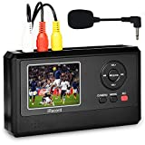DIGITNOW Video Capture Box with Microphone, VHS to Digital DVD Converter from VCR Tapes Hi8 Camcorder TV Box and Gaming Systems,Save to TF Card Directly