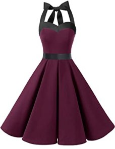 DRESSTELLS Vintage 1950s Rockabilly Dress