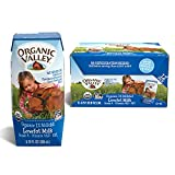 Organic Valley, Milk Boxes, Shelf Stable 1% Milk, Healthy Snacks, 6.75oz (Pack of 12)