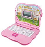 Liberty Imports Bilingual Advanced Learning Children Laptop - English and Spanish (Pink)