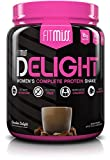 FitMiss Delight Protein Powder, Healthy Nutritional Shake for Women, Whey Protein, Fruits, Vegetables and Digestive Enzymes, Support Weight Loss and Lean Muscle Mass, Chocolate, 1.2-Pound