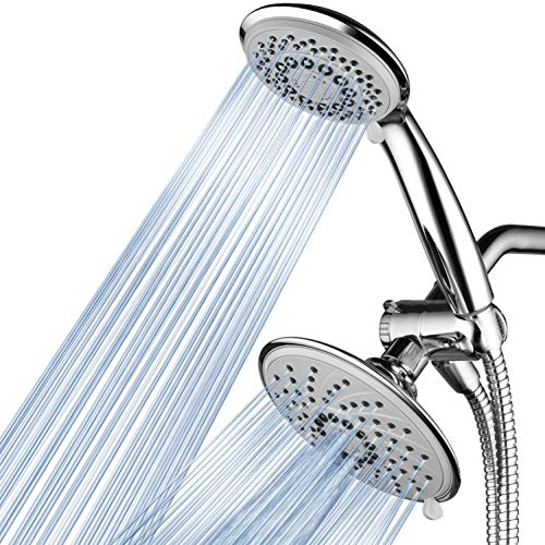 HotelSpa 30-Setting Ultra-Luxury 3 way Rainfall Shower-Head/Handheld Shower Combo by Top Brand Manufacturer. Choose from 30 full and combined water flow patterns!