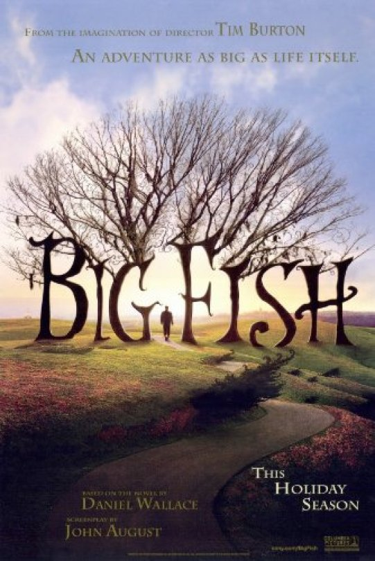 Image result for big fish poster