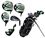 Aspire X1 Men's Complete Set (Right Hand, Regular, Driver, 3 Wood, Hybrid, 6 Thru PW Irons, Putter, Stand Bag and 3 Head Covers)