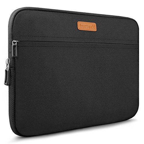 Inateck 14-14.1 Inch Laptop Sleeve Case, Water Repellent Compatible with MacBook Pro 15'' 2018/2017/2016, Most 14-14.1 Inch Laptops- Black (LC1400B)