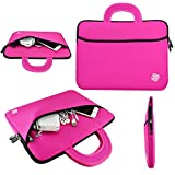 KOZMICC 15-15.6' Laptop Sleeve Portable Case Bag Handle Pouch Cover for Apple MacBook, Dell, HP, Lenovo, Samsung