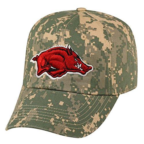 617a1b879b7 Arkansas Razorback Flagship Hat Adjustable Digi Camo Cap - SEC Fanatics