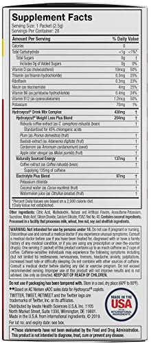 Hydroxycut Drink Mix Weight Loss Supplements, Wildberry Blast, 28 Count (Pack of 1) 7