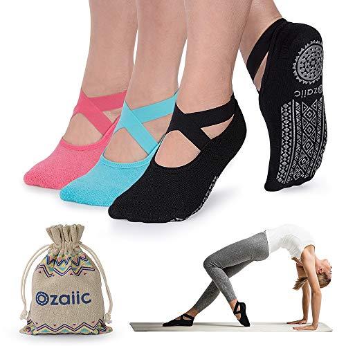 Ozaiic Yoga Socks for Women Non-Slip...