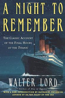 Night to Remember (Holt Paperback): LORD, WALTER: 9780805077643 ...
