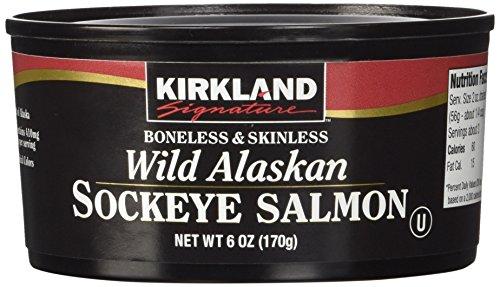 Kirkland Signature Wild Alaskan Sockeye Salmon